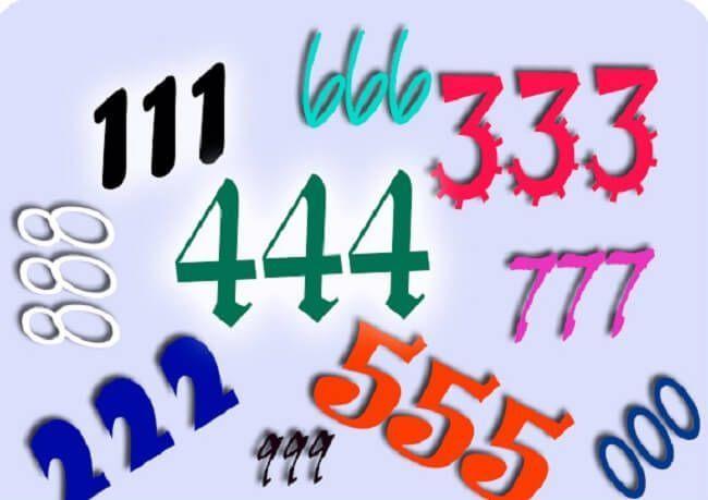 signficado de numeros triples