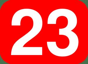 numero 23 significado