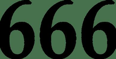 666 numero