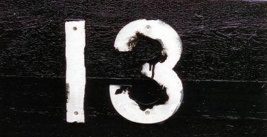 miedo al numero 13