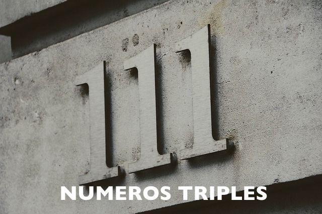 los-numeros-triples