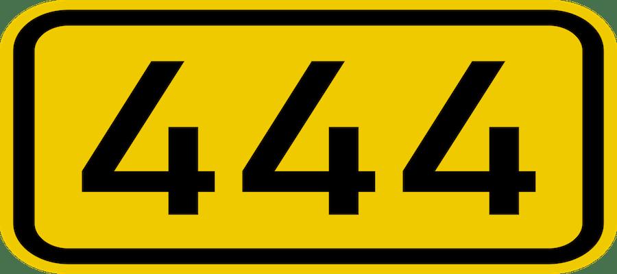 444 numero
